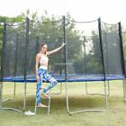trampoline bed prices - 15 14 12 FT Trampoline with Enclosure net and poles Safety Pad Ladder Low Price~