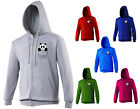 Panda Bear Cute Funny Animal Pocket Print Unisex Zip Up Hoodie