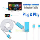 Lightning 8 Pin to HDMI HDTV Adapter Cable for iOS 10 iPad iPhone X 8 7 6s Plus