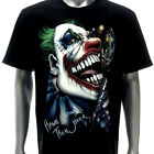 where to have a glow in the dark party - r221 Rock Eagle T-shirt Tattoo GLOW in DARK Skull Ghost Joker Have Fun Gun Kill