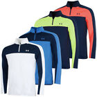 Under Armour Mens EU Midlayer Water Repellent Stretch Golf Pullover 45% OFF RRP