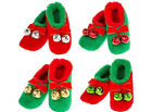 Snoozie Christmas Fun Novelty Bauble Jingle Bell  Snoozies Slippers Gift