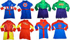 Adult Mens Marvel Comic Book Avengers Superheroes Design Dressing Gown Bathrobe