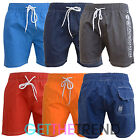 Mens New Crosshatch Swim Shorts Mens Printed Surfboard Holiday Beach Shorts