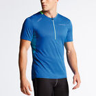 Dare 2b Mens 2018 Attest Lightweight 1/2 Zip Reflective Cycle Jersey 52% OFF RRP