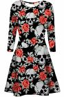 Womens Vampire Horror Blood Halloween Costume Ladies Smock Flared Swing Dress <br/> 50% Reduced prices for only 72hrs. Special offer !!!