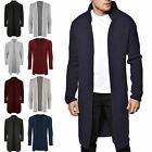 New Men's Designer Shawl Collar Open Heavy Knit Outwear Sweater Jumper Cardigan