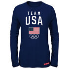 Team USA Olympic Winter Games 2018 Women's Long Sleeve Tee Shirt