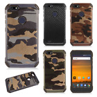 For ZTE Blade X Z965 Rubber IMPACT TRI HYBRID Case Skin Phone Cover Accessory