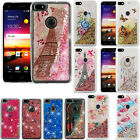 For ZTE Blade X Z965 Liquid Glitter Quicksand Hard Case Phone Cover