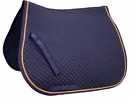 Dressage Saddle Pad with Gold Rope Derby Originals