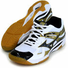 Mizuno Japan V1GA1650 White Black Men's WAVE ODEEN LO Volleyball Shoes