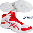 ASICS Japan TVR491 White Red 2018 Men's V-SWIFT FF MT Mid Volleyball Shoes