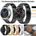 Stainless Steel Replacement Wrist Strap For Samsung Gear S3 Frontier / Classic