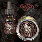 Devil's Mark Necessary Evil Beard Balm Beard Oil by Triple Six Artistry Coffee