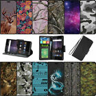For Samsung Galaxy J3 Eclipse | J3 Mission (2017) Wallet Card Stand Case - Camos