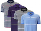 *NEW 2018* CALLAWAY 3 COLOUR STRIPE POLO SHIRT CGKS8084(VARIOUS COLOURS & SIZES)
