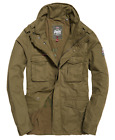Superdry Men's Duty Green Rookie Military Full Zip Jacket