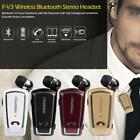 Fineblue Bluetooth4.0 Stereo Bass Headset Earphone with Mic Clip Hands-free G4N6