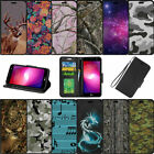 For LG Phoenix 3 | LG Fortune | LG K4 (2017) Wallet Case Card Slots - Camos