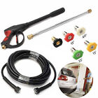 3000/4000PSI Car High Pressure Power Washer Spray Gun Wand Nozzle Hose Kit Set