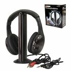 tv headphones - 5 in 1 Hi-Fi Wireless Headset Headphone Earphone for TV DVD MP3 PC Audio Phones