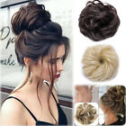 Kyпить Curly Messy Bun Hair Piece Scrunchie Updo Cover Hair Extensions Real as human GM на еВаy.соm
