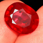 6CT Natural Mozambique Blood Red Ruby Faceted Cut QHB513