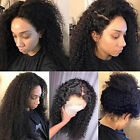 360 Lace Frontal Human Hair Kinky Curly Full Lace Wigs Glueless with Baby Hair J