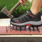outdoor mens boots - Men's Steel Toe Safety Shoes Outdoor Work Sneakers Breathable Climbing Combat