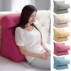 Adjustable Bed Sofa Office Rest Neck Waist Support Back Wedge Cushion Pillow USA image