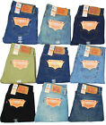 Levis 501 Jeans Button Fly Mens Authentic Many Sizes Many Colors New With Tags!!