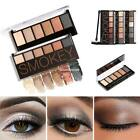 6 Colors Eyeshadow Palette Shimmer Pigmented Smokey Eyes Cosmetic EN24H