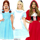 Fairy Tale Ladies + Tights Fancy Dress World Book Day Womens Adults Costumes New