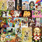 DIY Dog Animal 5D Diamond Painting Embroidery Cross Crafts Stitch Kit Home Decor