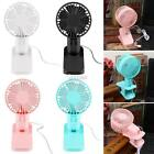 New ABS Flexible Portable Double- blade Mini Clip Fan for Summer Day DZ88 01