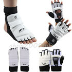Taekwondo Training Protector Hand Foot Guard Glove Instep Martial Arts Sparring