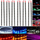 12 X Waterproof 12''/15 DC12V Motor LED Strip Underbody Light For Car Motorcycle