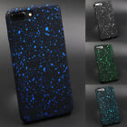 Matte Cover Ultrathin Glitter Shining Stars Hard PC Covers For iPhone 5/6/7/8