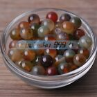 Round Natural Multi-Color Agate Gemstone Stone Loose Beads Jewelry Findings