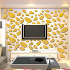 Mirror Wall Sticker Decal Removable Art Baby Kids Room Decor Cobblestone