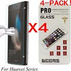 4X Tempered Glass Film Screen Protector For Huawei P8/P9/P10Plus/Lite Honor 8 9