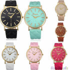 Hot Womens Leather Classic Watches Roman Watches Analog Wristwatch Gifts