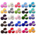 Lots 25 Colors 5 stocks of milk cotton thread 50g Knitting Yarn Baby Knit