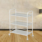 3/4Tier Large MINI Beauty Salon Trolley Cart Shelf Shelves Bookshelf Storage UK