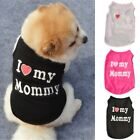 Summer Small Pet Dog Apparel Coat Puppy Cat Vest T-shirt Clothes Pet Costume US