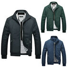 Herren Sweatjacke Klassisch Harrington Jacke Fliegerjacke Business Mäntel Jacken