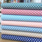 Polka dot fat quarter bundle & fabrics per half metre, 100% cotton fabric