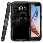 For Samsung Galaxy S7 EDGE SM-G935 Dual Bumper Kickstand Holster Combo Case