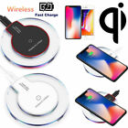 2Pack Qi Wireless Promiscuous Charger Pad For Samsung Galaxy Note 8 S8 S9 S7 iPhone X 8